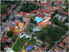 Colosseum Wellness Hotel, View from above - Morahalom