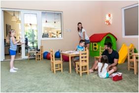 Játszószoba gyerekeknek, Colosseum Wellness Hotel, Mórahalom