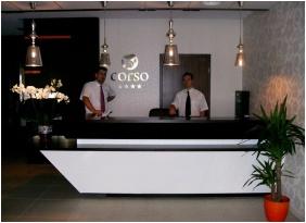 Corso Boutique Hotel, Recepció