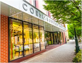 Boutique Hotel Corso, Gyula, Exterior view