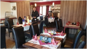 Corvn Hotel, yula, Restaurant