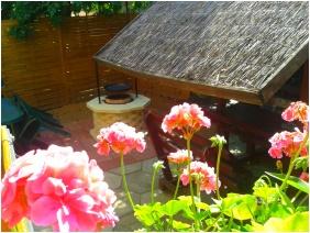 Deák Vendégház, Hajdúszoboszló, Belső kert