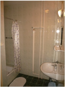 Dominik Pension, Salle de bain partagée