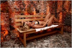 Hotel Drava Thermal Resort, Harkany, Saltcave