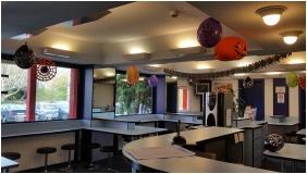Reception area, Drive Inn Hotel, Torokbalint