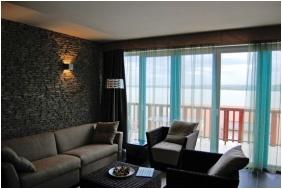 Echo Residence All Suite Hotel - Tihany, Nappali berendezése