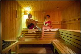 Finnish sauna, Erzsebet Grand Hotel, Paks
