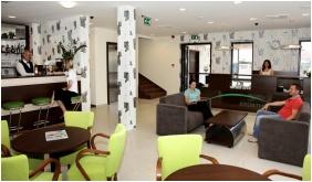 Reception area, Hotel Ezusthid, Veszprem