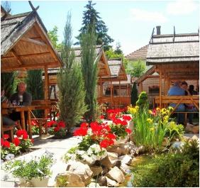 İnner ğarden - Hotel Fodor Halaszcsarda