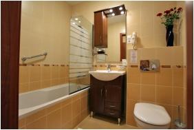 Bathroom, Fonix Medical Wellness Resort , Nogradgardony