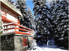 Galya Vendégház, Télen