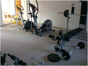 Fitness terem, Prima Villa 2 - Gambrinusz Prima Apartman, Hajdúszoboszló