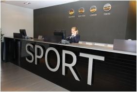 Reception - Globall Football Park & Sporthotel