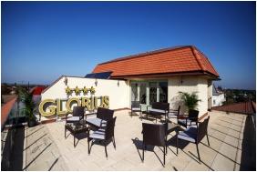 Terasz, Grand Hotel Glorius, Makó