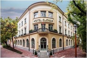 Grand Hotel Glorius, Entrance