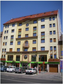 Hotel Green Budapest, Front view