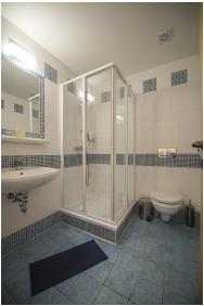 Fürdőszoba, Zenit Hotel Vendégház, Vonyarcvashegy