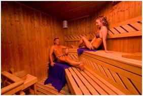 Sauna - Wellness Hotel & Equestrıan Park Hetkut