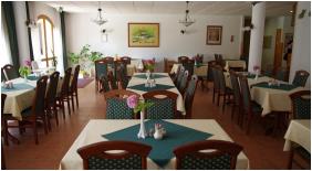 Restaurant, Agnes Hotel, Heviz