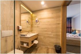 Fürdőszoba, Akadémia Hotel, Balatonfüred