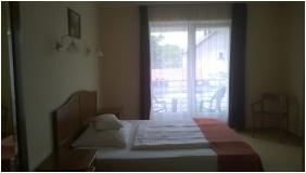 Single room, Hotel Aqua Sarvar, Sarvar