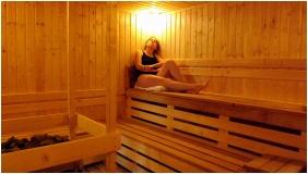 Fınnısh sauna, Hotel Aquamarın, Hevız