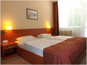 Deluxe room, Hotel Aquamarin, Heviz