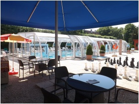 Hotel Aquamarın, Outsıde pool - Hevız