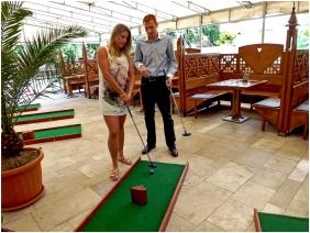 Hotel Aquamarin, Golfpálya