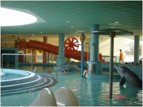 Élménymedence, Hunguest Hotel Aqua-Sol, Hajdúszoboszló