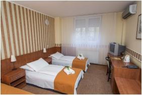Twin pokoj, Hotel Atlantic, Budapest
