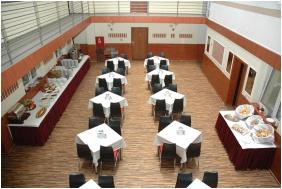 Hotel Atlantic, Sala śniadaniowa - Budapeszt