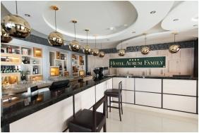Reception area - Hotel Aurum Family