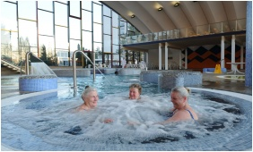 Belső medence, Hunguest Hotel Béke, Hajdúszoboszló