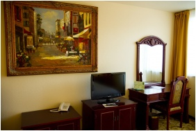 Franciaágyas szoba, Hotel Bellevue, Esztergom