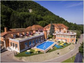 Hotel Bellevue, Exterior view - Esztergom