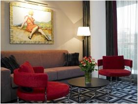 Hotel Belvedere Budapest, Living room