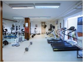 Fitness room, Hotel BorsodChem, Kazincbarcika