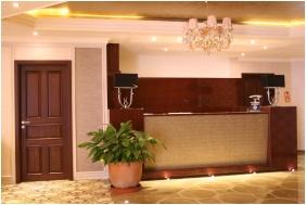 Reception, Hotel Capitulum, Gyor