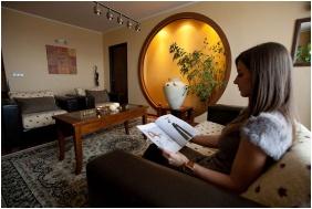 Living room, Hotel Caramell, Buk, Bukfurdo