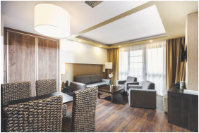 Living room, Caramell Premium Resort, Buk, Bukfurdo