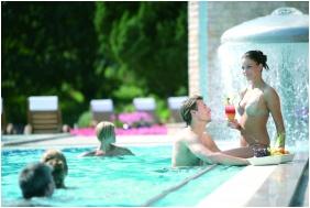 Naturmed Hotel Carbona, Outside pool