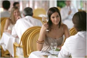 Restaurant, Naturmed Hotel Carbona, Heviz