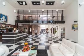 Recepció környéke, Hotel Castello, Siklós
