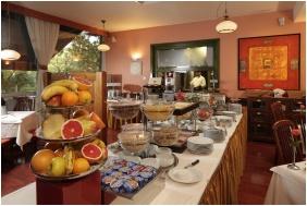 Śniadanie, Hotel Charles, Budapeszt