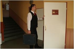 Przedsionek, Hotel Charles, Budapeszt