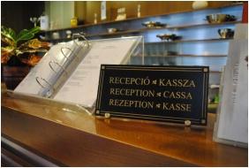 Reception, Hotel Claudius, Szombathely