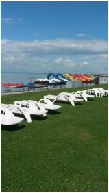 Hotel Europa & Hungaria Siofok, Own beach - Siofok