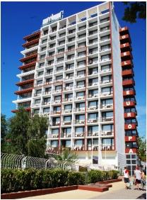 Building, Hotel Europa & Hungaria Siofok, Siofok