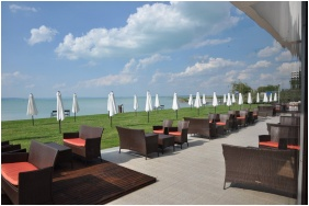 Hotel Europa & Hungaria Siofok, Siofok, Bar Terrace